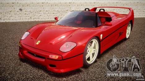 Ferrari F50 Spider v2.0 for GTA 4