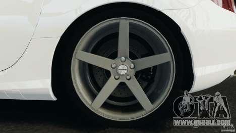 Mercedes-Benz SLK 2012 v1.0 [RIV] for GTA 4 upper view