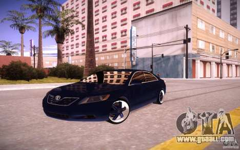 Toyota Camry Light Tunning for GTA San Andreas