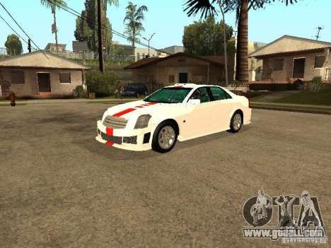 Cadillac CTS 2003 Tunable for GTA San Andreas upper view
