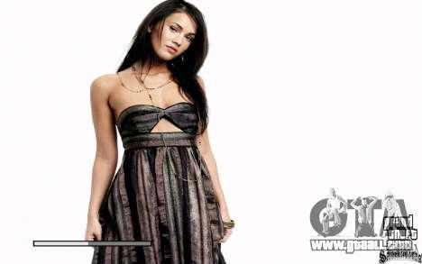 Boot screens (Megan Fox) HD for GTA San Andreas second screenshot