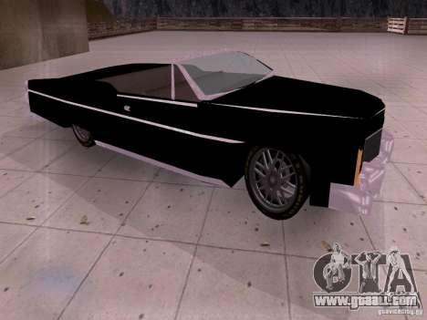 Cadillac Deville 1974 for GTA San Andreas left view