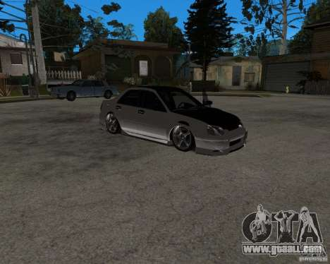 Subaru Impreza (exclusive) for GTA San Andreas