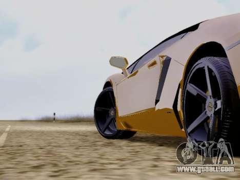 Lamborghini Aventador LP700-4 Vossen for GTA San Andreas right view