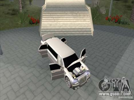 Chrysler 300C Limo for GTA San Andreas inner view