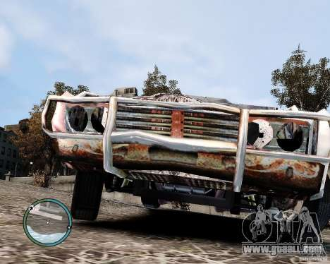 Flatout Shaker IV for GTA 4 back view