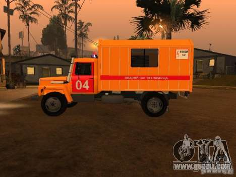 Gaz 3309; for GTA San Andreas left view
