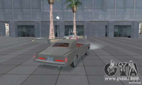 Cadillac Eldorado Convertible 1976 for GTA San Andreas back left view