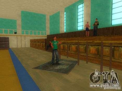 Tricking Gym for GTA San Andreas third screenshot