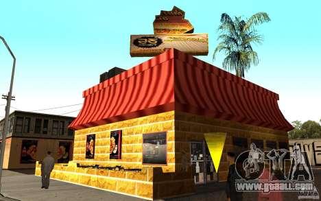 Cafe Rostics for GTA San Andreas