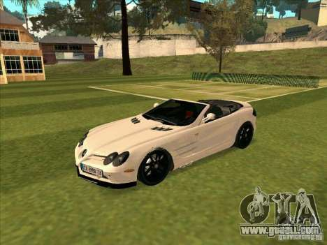 Mercedes-Benz SLR 722 Convertible for GTA San Andreas