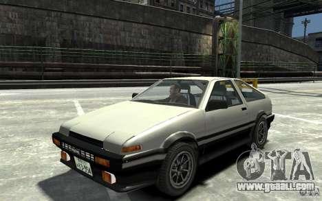 Toyota Sprinter Trueno AE86 for GTA 4