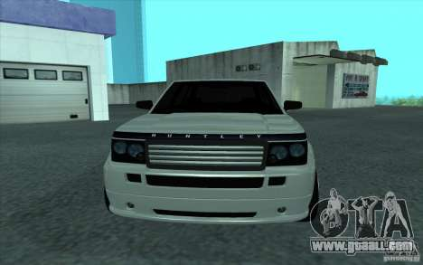 Huntley from GTA 4 for GTA San Andreas right view