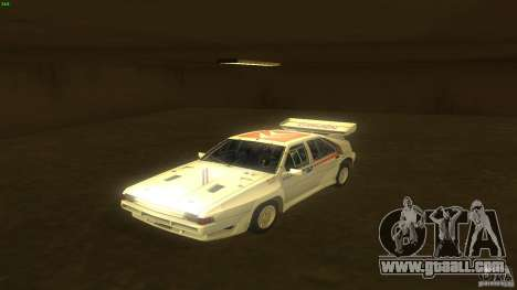 Citroen BX 4TC for GTA San Andreas