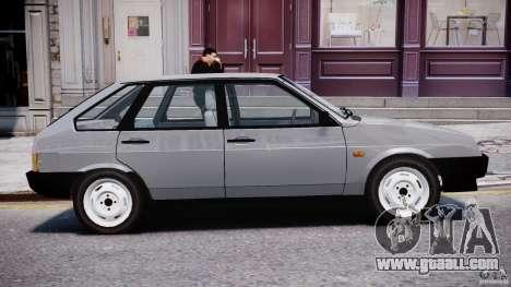 Vaz-21093i for GTA 4 interior