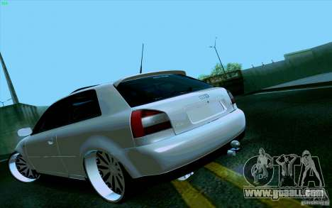 Audi A3 DUB Edition for GTA San Andreas left view