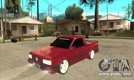 Volkswagen Saveiro Summer for GTA San Andreas