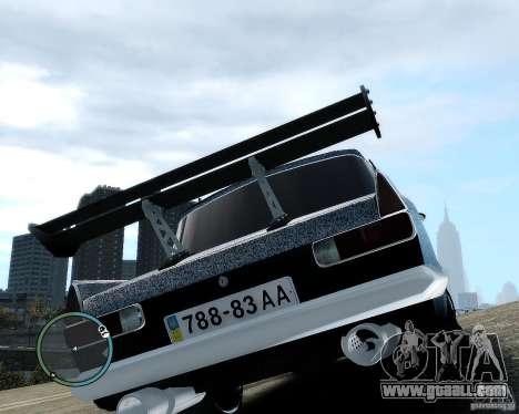 Moskvič 412 Street Racer [Alpha] for GTA 4 inner view