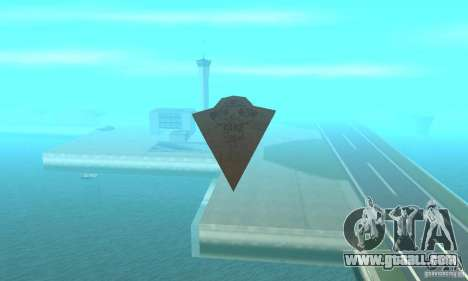 Executor Class Stardestroyer for GTA San Andreas right view