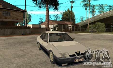 Alfa Romeo 164 for GTA San Andreas interior
