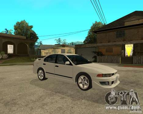 Mitsubishi Galant VR6 for GTA San Andreas right view