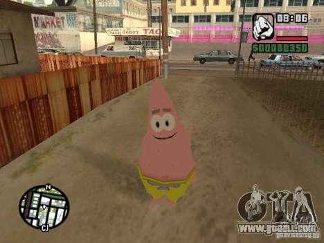 Patrick for GTA San Andreas