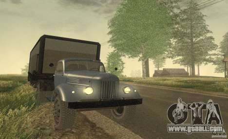 ZIL 164 Tractor for GTA San Andreas back left view