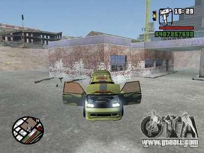 1111 OKA (tuning) for GTA San Andreas left view