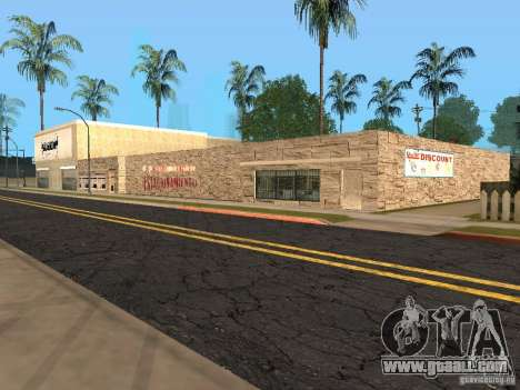 New roads on Grove Street for GTA San Andreas