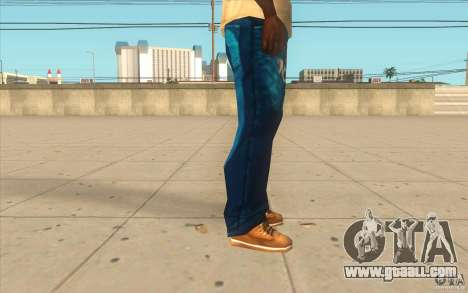 Remix-Evisu-Joker-Burberry Hose for GTA San Andreas forth screenshot