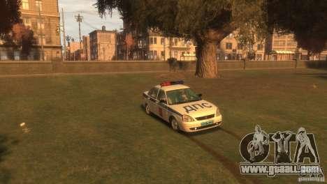 VAZ Lada 2170 Priora for GTA 4 right view