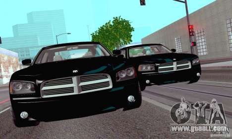 Dodge Charger Fast Five for GTA San Andreas right view