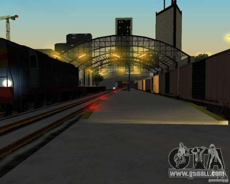 New railway station for GTA San Andreas fifth screenshot