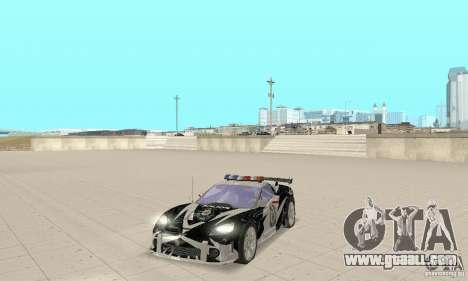 Chevrolet Corvette C6 Rough (NFS MW) for GTA San Andreas