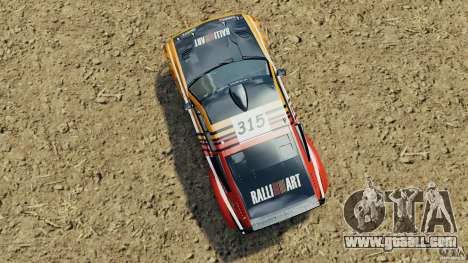 Mitsubishi Pajero Evolution MPR11 for GTA 4 right view