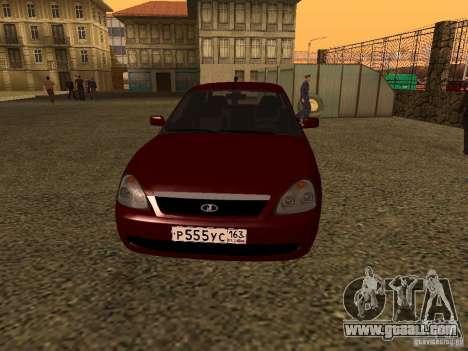 LADA 2170 Premier for GTA San Andreas left view