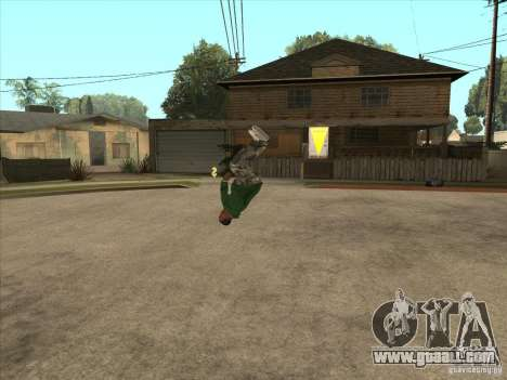 Parkour 40 mod for GTA San Andreas eighth screenshot
