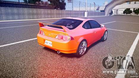 Acura RSX TypeS v1.0 stock for GTA 4 side view