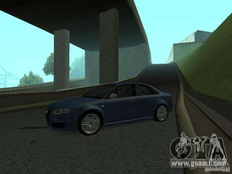Audi RS4 for GTA San Andreas left view