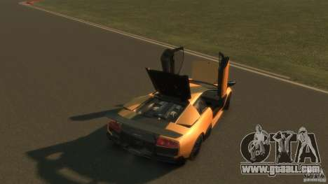 Lamborghini Murcielago VS LP 670 FINAL for GTA 4 upper view
