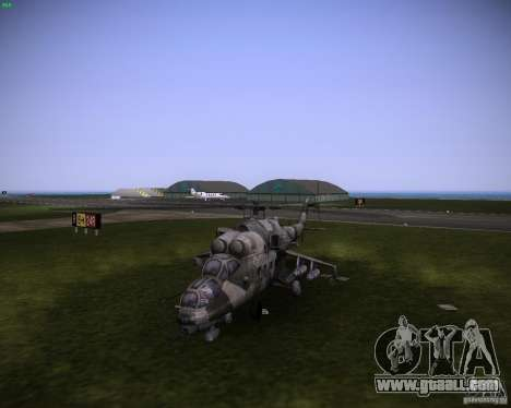 Mi-35 for GTA Vice City