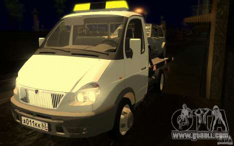 3302-Gazelle 14 tow truck for GTA San Andreas side view