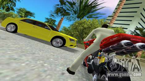 Lancia Nuova Thema for GTA Vice City inner view