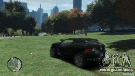 Volkswagen Concept for GTA 4 left view