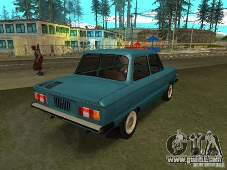 ZAZ 968 m for GTA San Andreas back left view