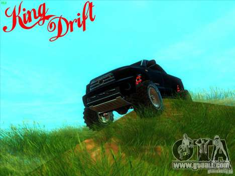 Toyota Tundra OFF Road Tuning for GTA San Andreas left view