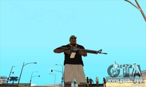 WEAPON BY SWORD for GTA San Andreas third screenshot