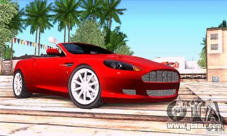 Aston Martin DB9 for GTA San Andreas right view