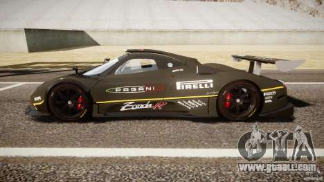 Pagani Zonda R 2009 for GTA 4