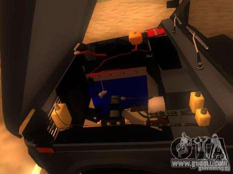 Vaz 2131 NIVA for GTA San Andreas inner view